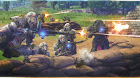 ps4 Valkyria: Azure Revolution gouache legion engine soldiers