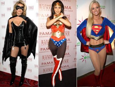 Fotos de fantasias de super - heróis