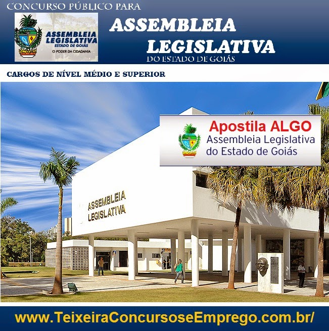 Assembleia Legislativa de GO - Assistente Legislativo 2015.