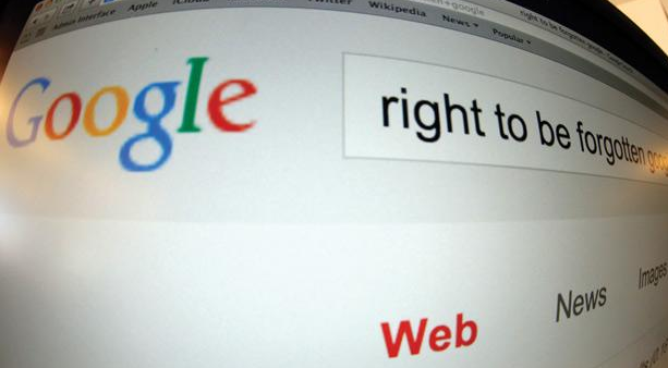 Google Right to be forgotten Tour sur le droit à l'oubli