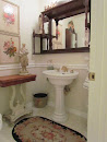 My Shabby Little powder Room