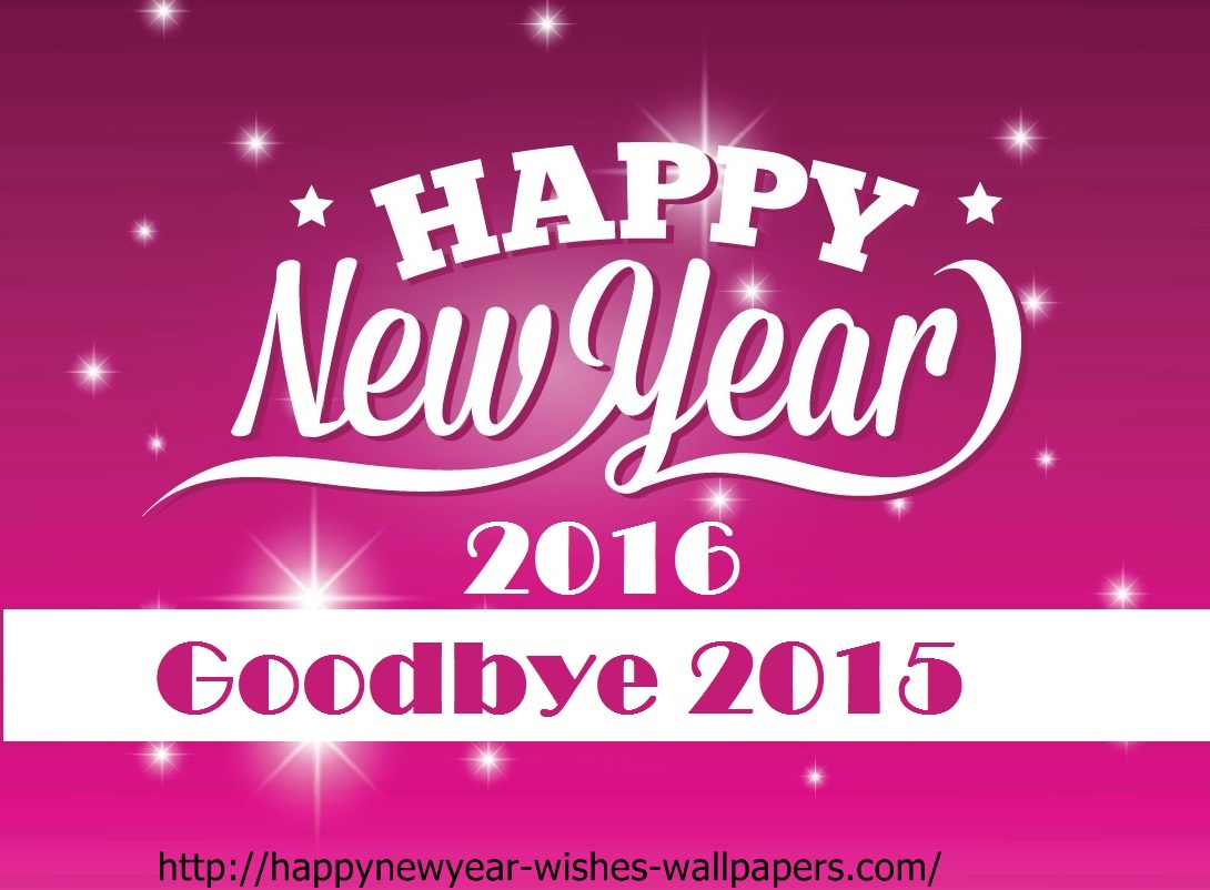 New Year 2016 Wallpapers Wishes Happy New Year Gretings Card