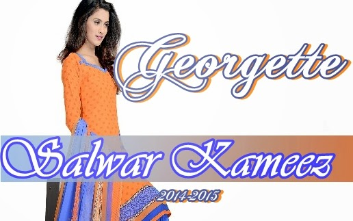 Georgette Salwar Kameez 2014