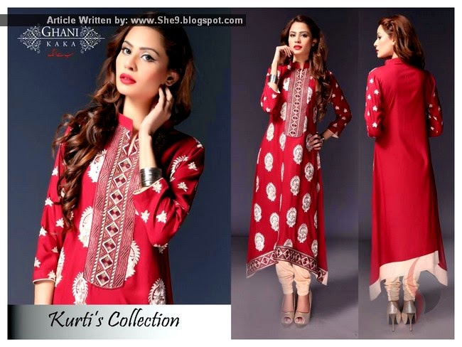 Ghani Kaka Kurti Collection 2015