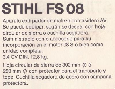 Stihl FS08