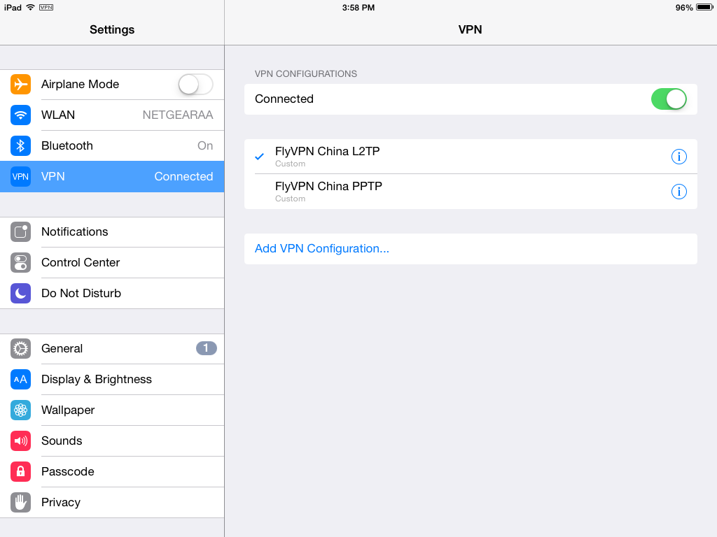 how to delete vpn from iphone 6