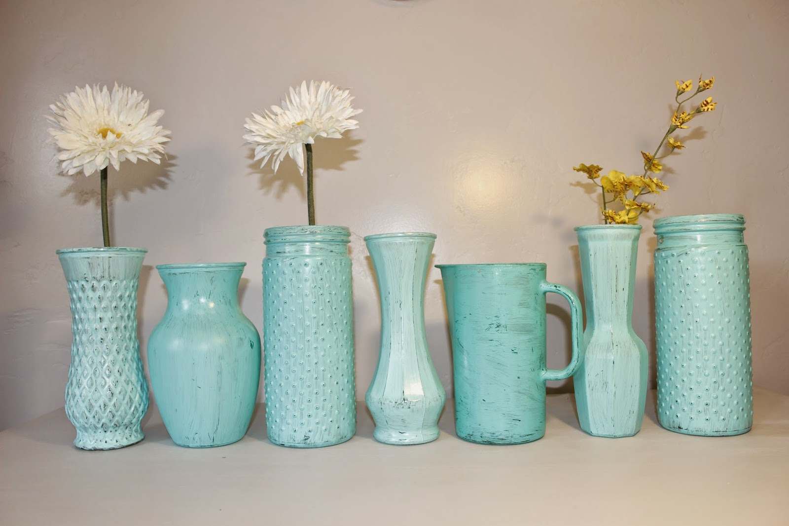 rustic vase, wedding vase, rustic wedding vase, handpainted vase, coastal wedding vase, antique vase, shabby chic vase, distressed vase, wedding decor, rustic wedding decor, rustic wedding centerpiece, turquoise vase, handpainted turquoise vase, rustic turquoise vase, rustic teal vase, turquoise wedding decor