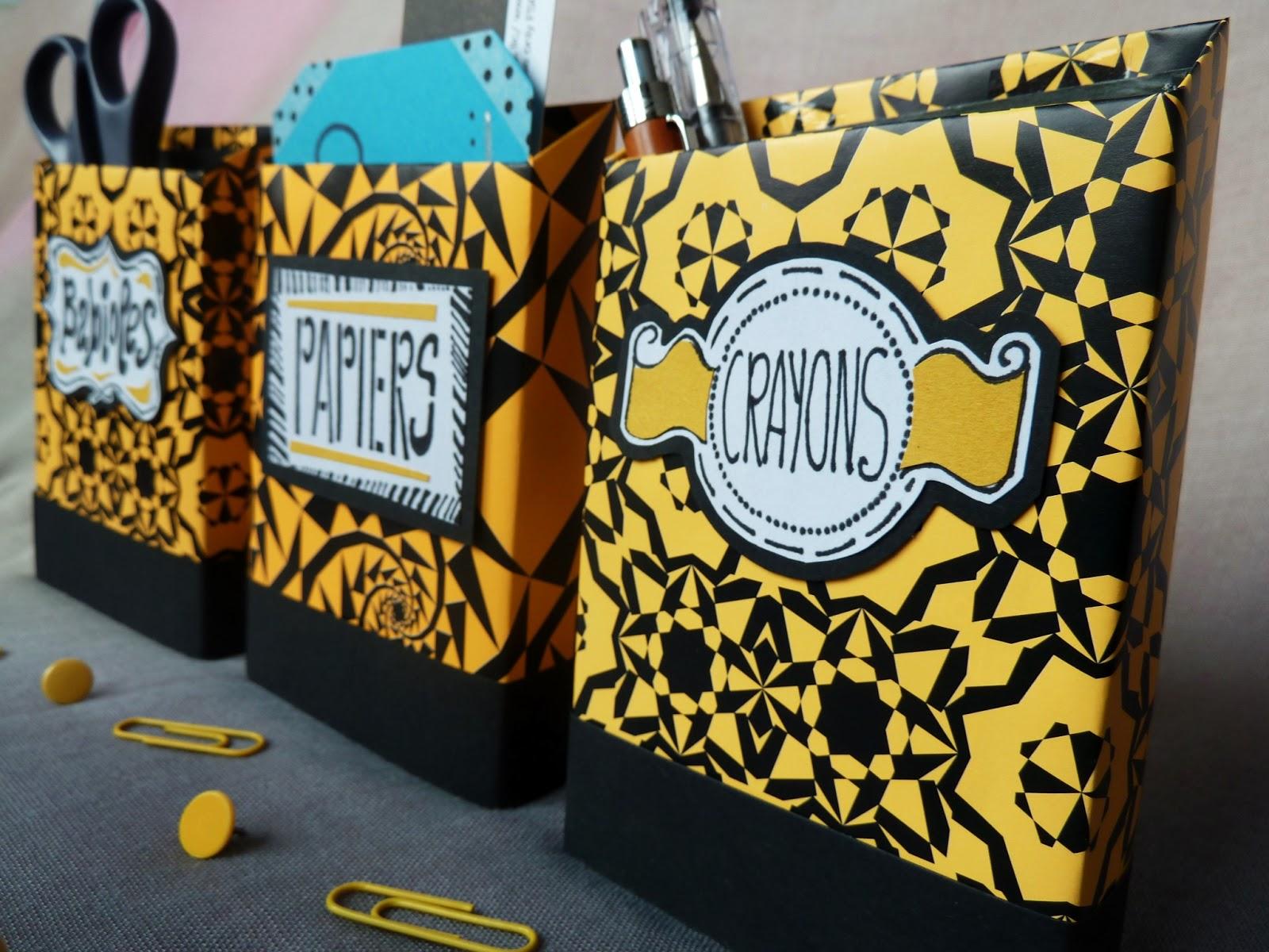 L 39 atelier m tallique petits rangements des nouvelles bo tes en carton - Customiser boite carton ...