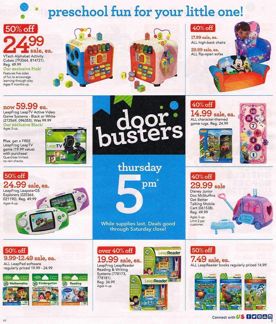 Toys R Us Black Friday Sale Ad 2015