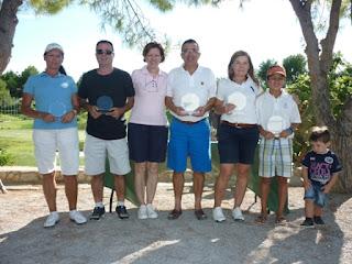 Ganadores Torneig Fornet d'en Rosend en Portal del Roc Pitch & Putt