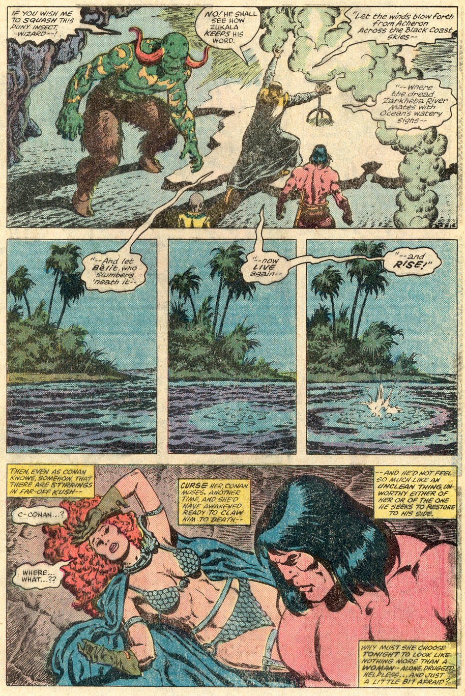 Conan the Barbarian (1970) Issue #115 #127 - English 24