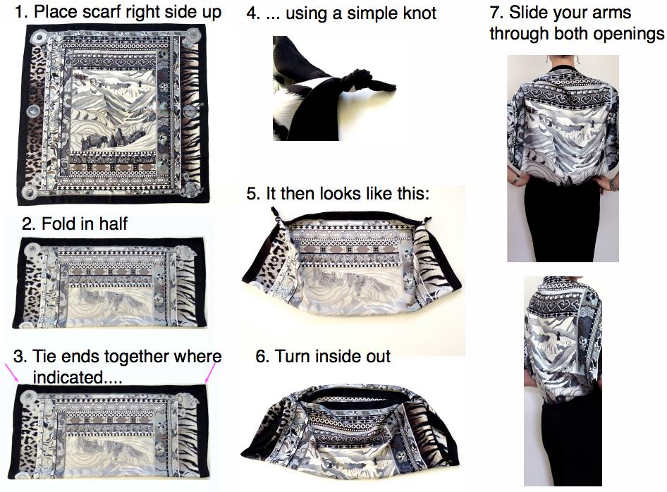 How to tie a bolero 41