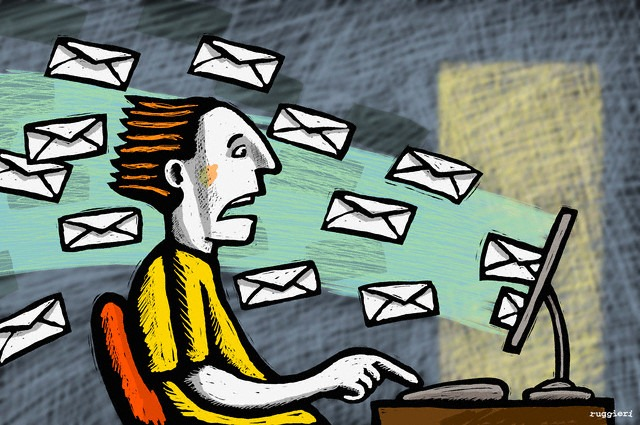 how to create lots emails
