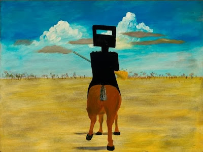 Sidney Nolan -  Ned Kelly,1948.