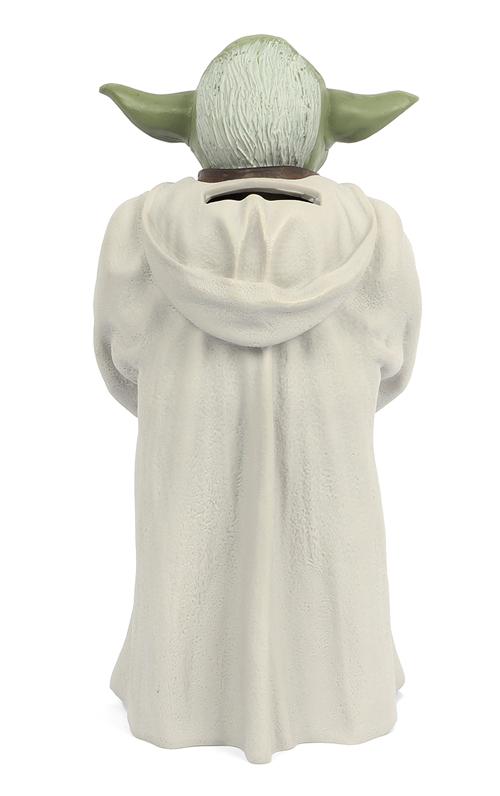 Star Wars Yoda Figure Vinyl Coin Money Bank