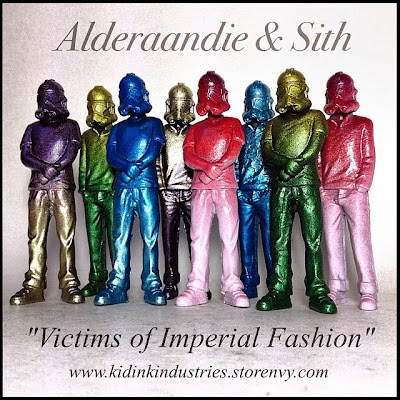 Imperial Fashion Victim Bootleg Star Wars Resin Figures by Kris Dulfer