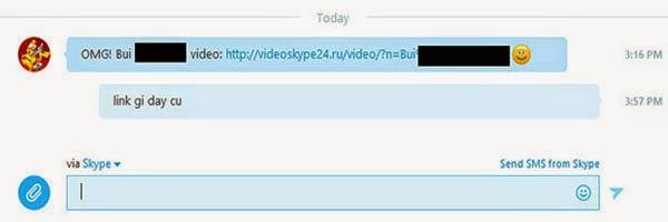 Phát Hiện Mã Độc Mới Phát Tán Trên Skype 2