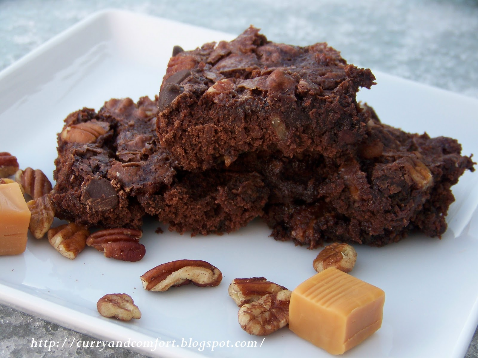 Kitchen Simmer: Turtle Brownies