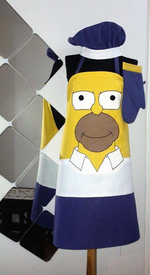 Homer Simpson Mutfak Önlüğü