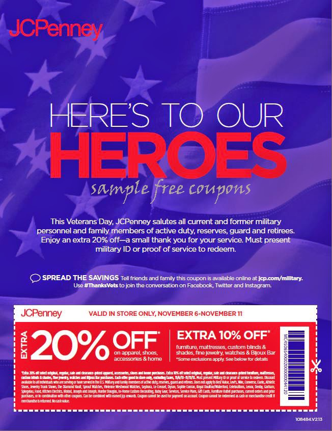 Jcpenney in store coupons november 2018