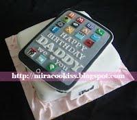 3-D iPad Cake