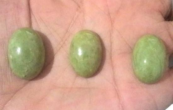 Batu Akik Green Sojol (Giok Sojol), Benarkah Memiliki Khasiat Terhadap Kekuatan