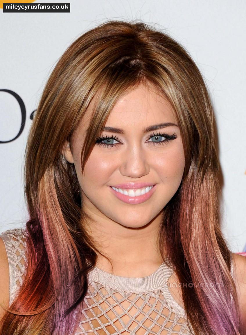 Hair Trend Purple Ombre Shine Fuse