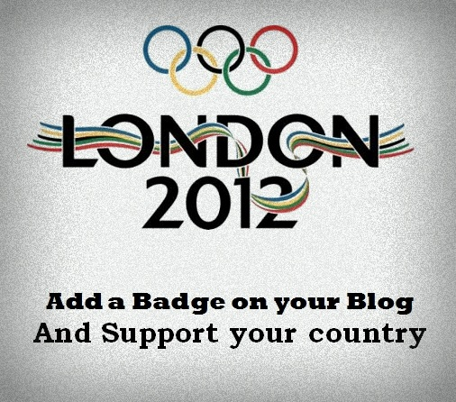 london olympics 2012 blogger badge for blog add