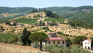 Bed and Breakfast in a genuine Tuscan villa