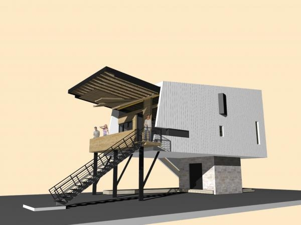Biloxi model home project