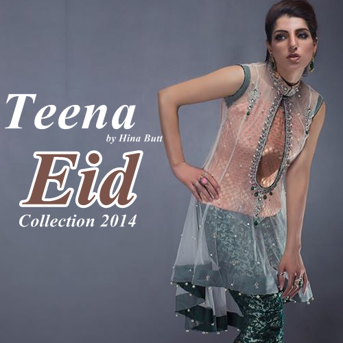 Teena by Hina Butt Eid Collection'14
