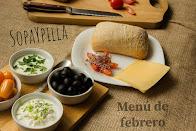 Propuestas de menú para FEBRERO