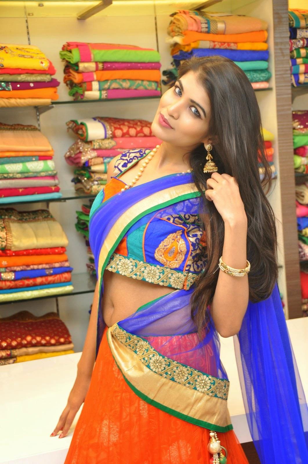 Isha half saree photos-HQ-Photo-2