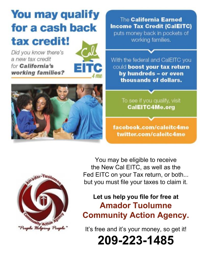 ATCAA: EITC/CEITC. It's your money!