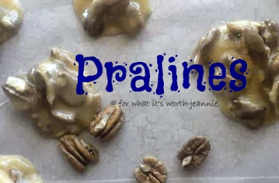 Easy Pralines with fresh pecans