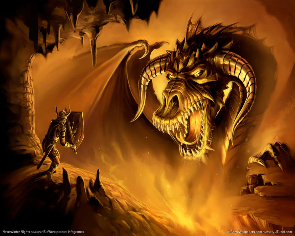 Neverwinter Nights HD & Widescreen Wallpaper 0.698420839428924