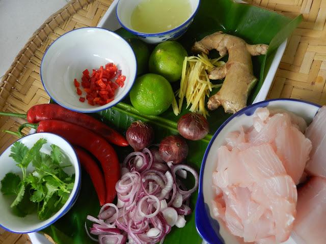 Hinava - Kadazan Dusun Appetizer (Fish salad) - MFF Sabah #1