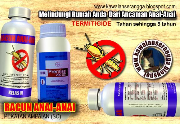 Racun anai-anai tahan lebih lama dengan kaedah rawatan tanah