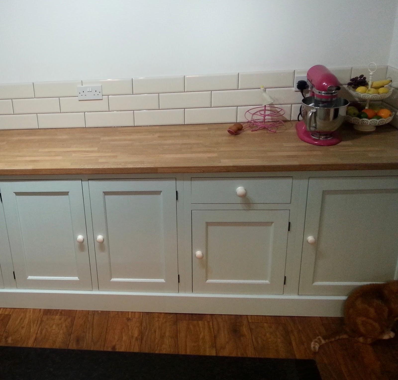 painted kitchen, Northampton
