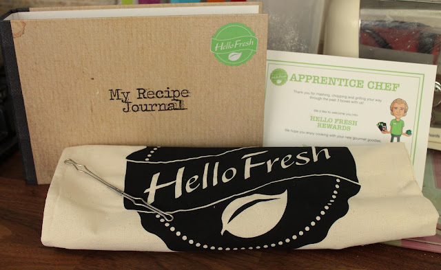 Hello Fresh gifts for reaching apprentice chef level