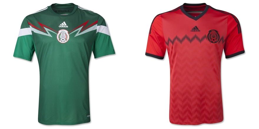 Meksiko - Jersey Grade Ori Piala Dunia 2014