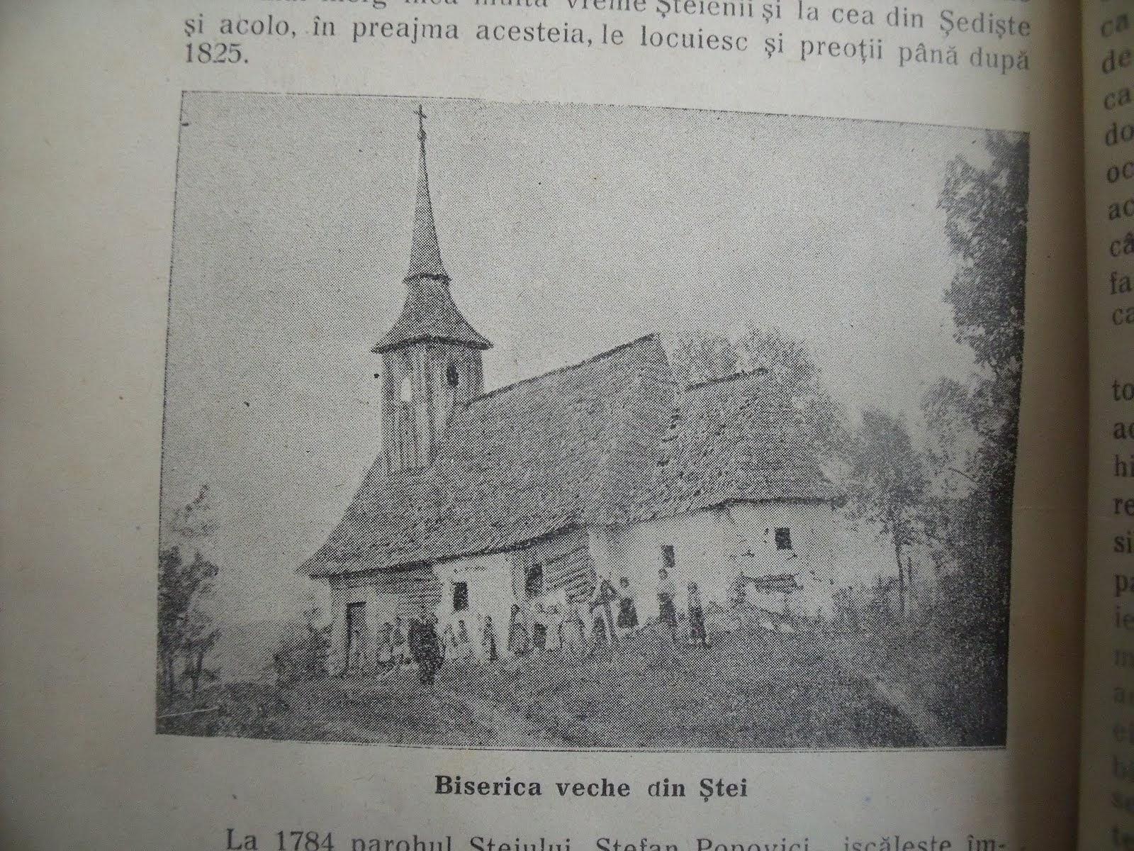 Biserica veche din Ştei