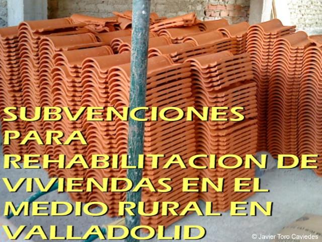 subvenciones rehabilitacion viviendas medio rural valladolid 2013