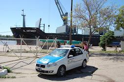 Realizan recorridas por la zona de estacionamientos de camiones