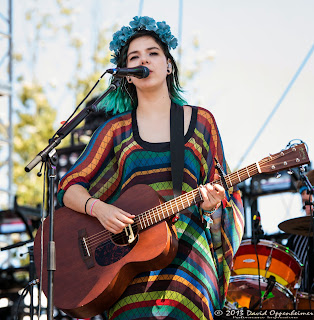 Nanna Bryndís Hilmarsdóttir with Of Monsters and Men