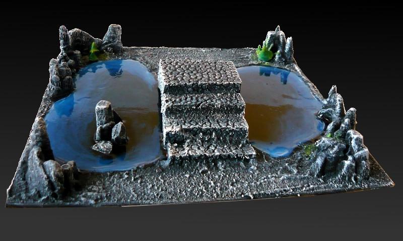 Skavenblight's Underground Scenery - Page 2 02-podziemne_jeziorko_z_mostem7
