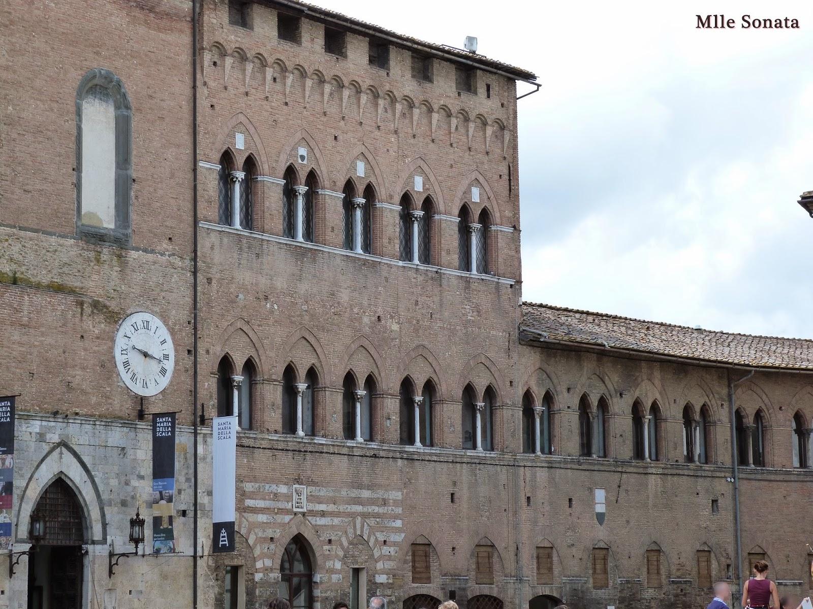 Voyage Italie Sienne Santa Maria della Scala
