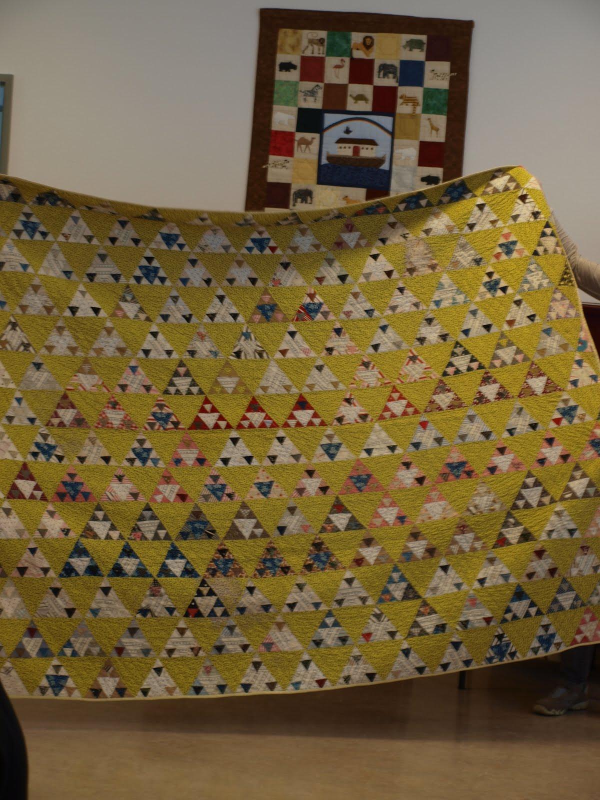 Quiltdingen enzo een mandje per week een rondje per maand - Quilts gele ...