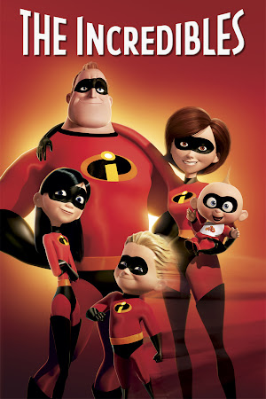 Poster Of Free Download The Incredibles 2004 300MB Full Movie Hindi Dubbed 720P Bluray HD HEVC Small Size Pc Movie Only At worldfree4u.com