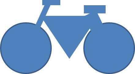 Sykkel størrelse 10 år
